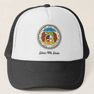 Missouri State Seal and Motto Trucker Hat