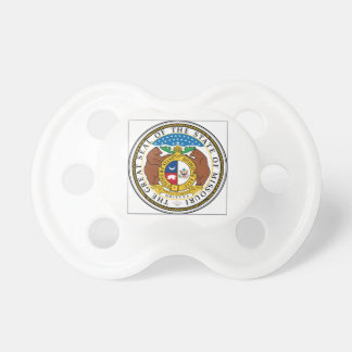 Missouri State Seal Baby Pacifier