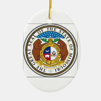 Missouri State Seal Christmas Ornament