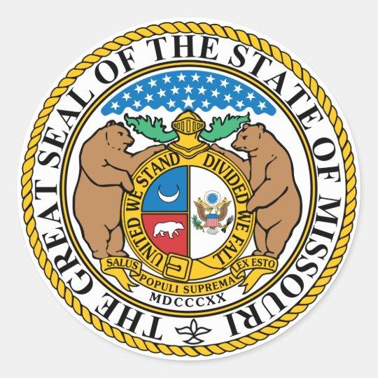Missouri State Seal Sticker