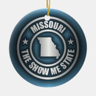 """""""Missouri Steel (Blue)"""" Ornaments"""