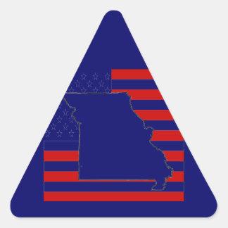 MISSOURI TRIANGLE STICKERS