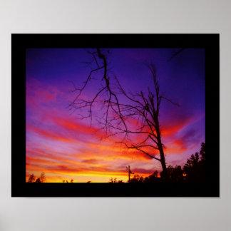 Missouri sunset poster