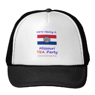 Missouri TEA Party - We re Taxed Enough Already Mesh Hat