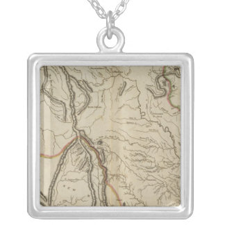 Missouri Territory formerly Louisiana Silver Plated Necklace