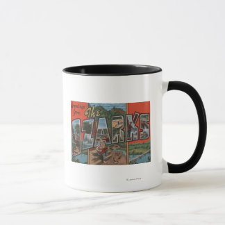 Missouri - The Ozarks - Large Letter Scenes Mug