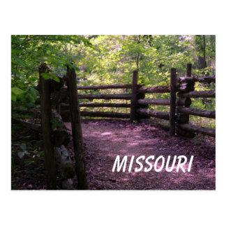 Missouri Trail Postcard