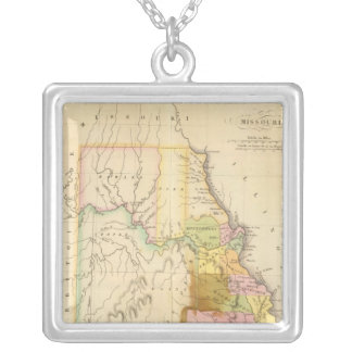 Missouri US Silver Plated Necklace
