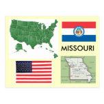 Missouri, USA Postcard
