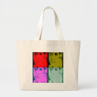MissTeri85 Warhole style pic Tote Bags