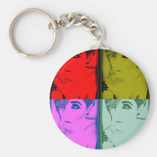 MissTeri85 Warhole style pic Key Chains