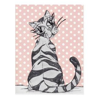 Missy Cat 02 Post Card
