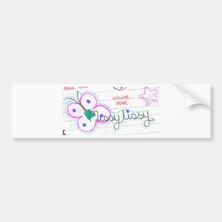 missy lissy 003 bumper sticker