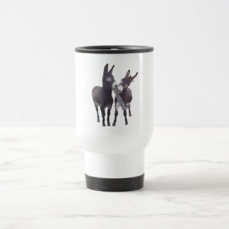 """Missy's Donkeys"" Travel Mug"