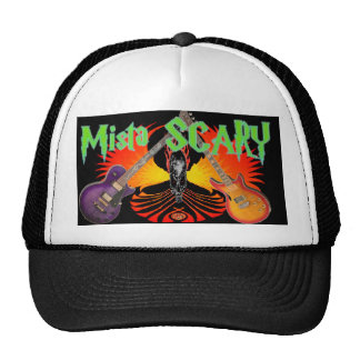 Mista SCARY Dueling Guitars Skull Phoenix Hat