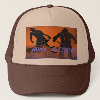 Mista SCARY Zombies, bats 19 - Customized Trucker Hat