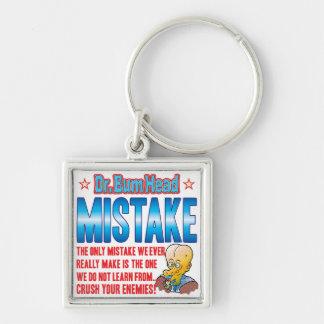 MISTAKE Dr Bum Head Key Chain
