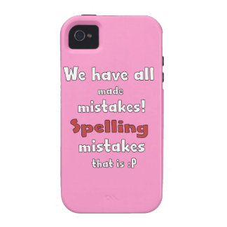 Mistakes iPhone 4 Covers