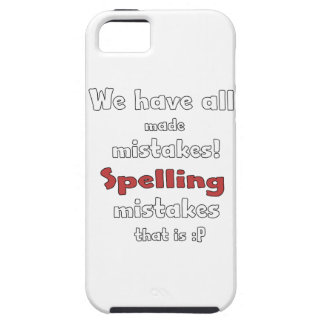 Mistakes iPhone 5 Cases