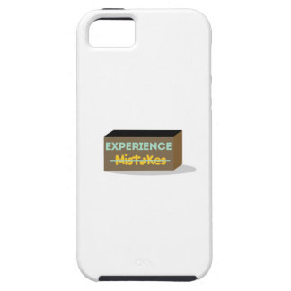 Mistakes equals Experience Case For iPhone 5/5S