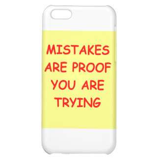 mistakes iPhone 5C cover