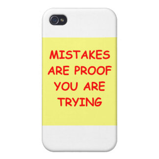mistakes cases for iPhone 4