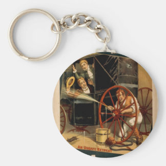 Mistakes Will Happen, 'An Unsafe Retreat' Retro Th Key Chains