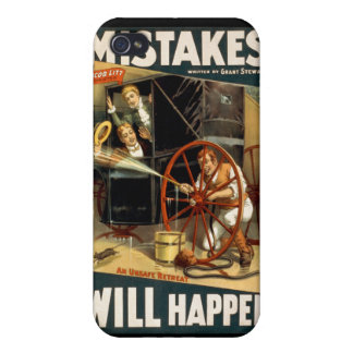 Mistakes Will Happen iPhone 4 Case