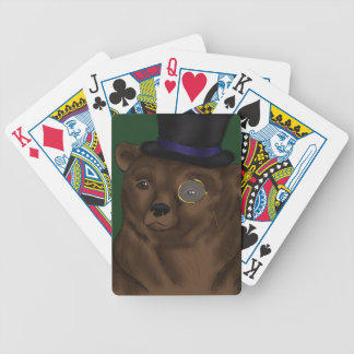 Mister Bear Playing Cards