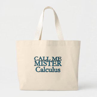 Mister Calculus Canvas Bag