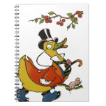Mister Duck in Formal Clothes Notebook