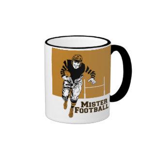 Mister Football Ringer Mug