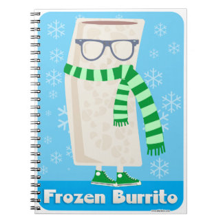 Mister Frozen Burrito Notebook