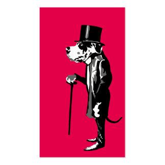 Mister Great Dane Pack Of Standard Business Cards