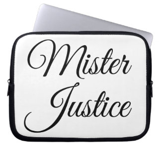 Mister Justice Laptop Sleeve