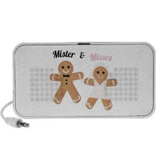 Mister & Misses iPhone Speakers