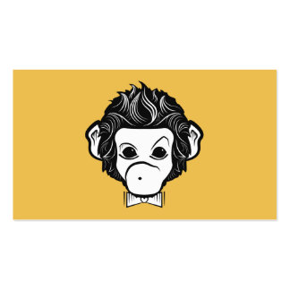 mister monkey Double-Sided standard business cards (Pack of 100)