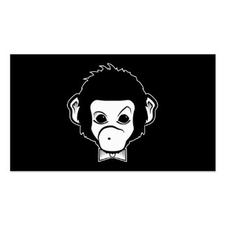 mister monkey pack of standard business cards