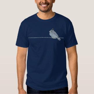 Mister Monocled Sparrow tee shirt