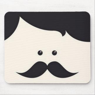 Mister Moustache! Mouse Pad
