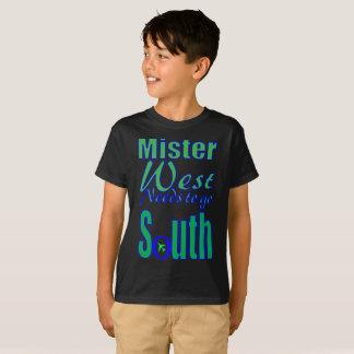Mister West. T-Shirt