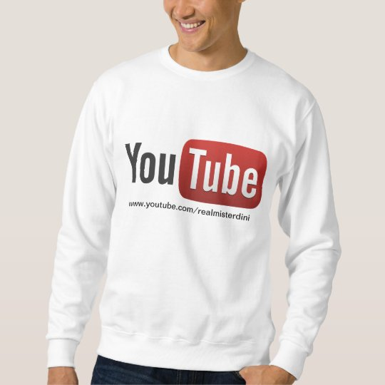 misterdini youtube channel sweatshirt