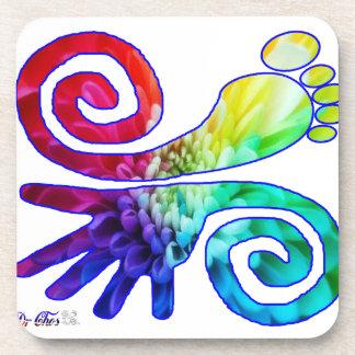 MISTICAL WWW DRCHOS COM LUCK LOVE PEACE BEVERAGE COASTERS