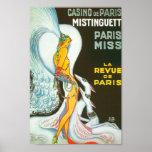 Mistinguett Parisian Cabaret ZIG French vintage Poster
