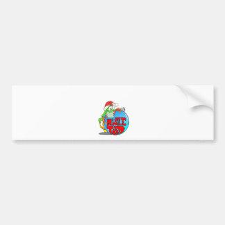 Mistle Toad Ornament Car Bumper Sticker