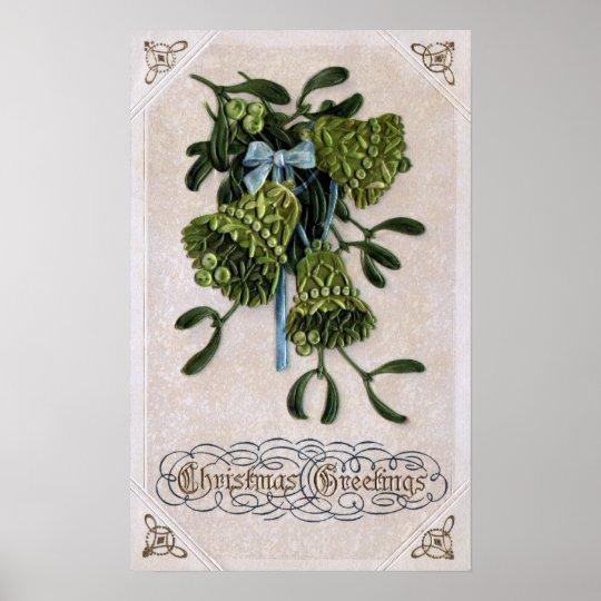 Mistletoe Bells Poster