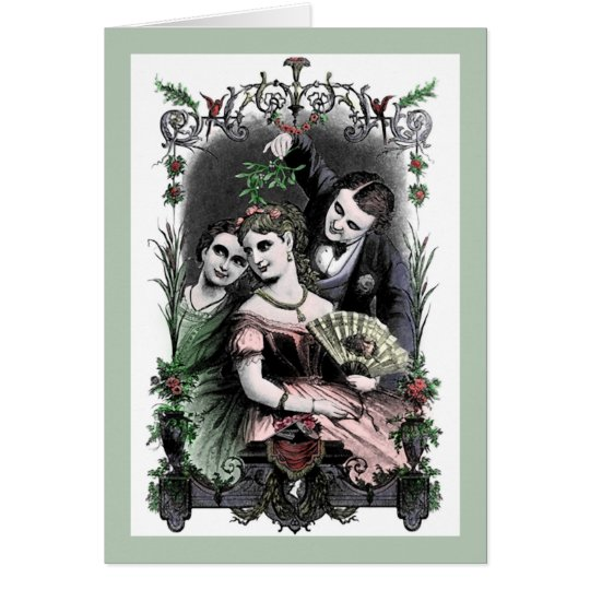 Mistletoe - Card (Customise)