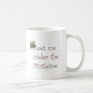 Mistletoe Coffee Mugs