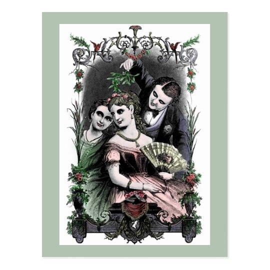Mistletoe - Postcard