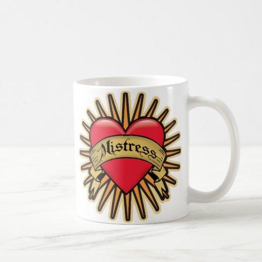 Mistress Heart Tattoo Mug